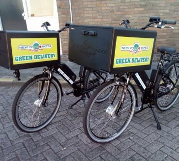 Levering van delivery ebike's