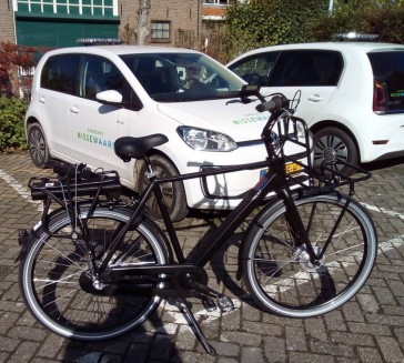 Levering van e-bike dienstfiets voor gemeente Nissewaard