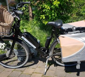 Elektrische postfiets – postbike – bezorgfiets
