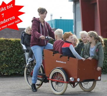 Cargo Trike Wide kinderopvang van Bakfiets.nl
